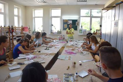 Mária Jankovics Creative Camp (12.08.2017.)
